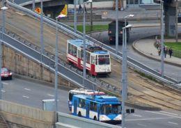 мост с трамваем