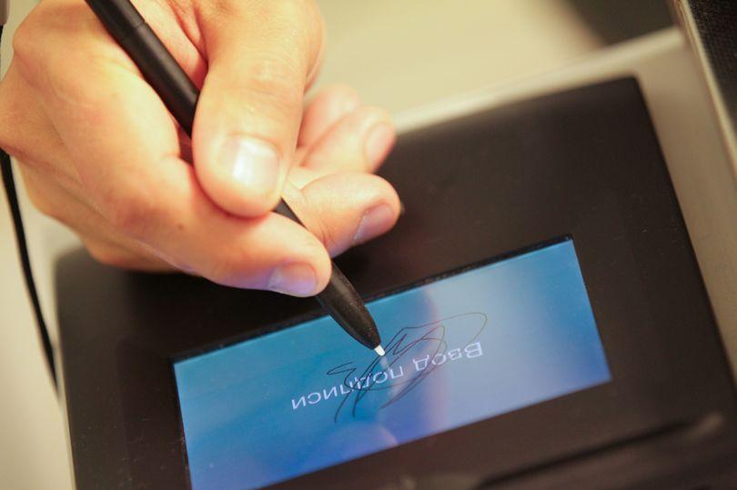 Выдача электронной подписи