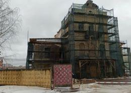 дом на Октябрьской набережной