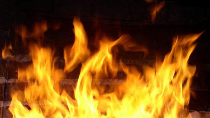 На Ворошилова выгорела квартира