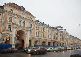 Эскиз реконструкции Апраксина двора представят 28 ноября