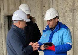 Цифровой двойник детского сада, строящегося на Петровской косе, будет использован при проведении проверок Госстройнадзора Санкт-Петербурга