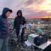 Подъезд мусоровозов к свалке в Колтушах заблокирован