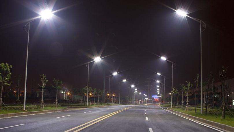 освещение трассы