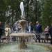 Цветной фонтан и сквер для Тихвина