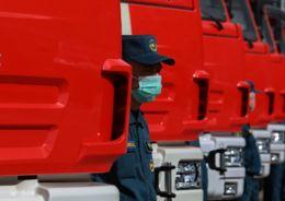 Пожарное депо в Кудрово готовятся ввести в эксплуатацию раньше срока