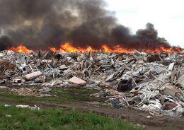 Госэконадзор: В Мурино незаконно сжигали мусор