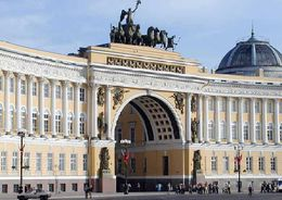 Завершилась реконструкция восточного крыла Главного штаба