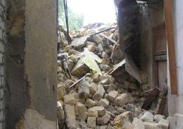 В Мурманской области обрушилась часть конструкции строящегося дома