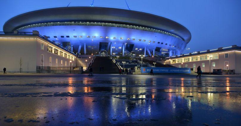 Название стадиона наКрестовском острове после ЧМ-2018 выберут нареферендуме— Албин