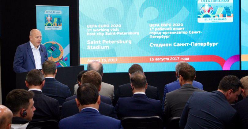 Инспекторы UEFA проверят, как Петербург готовится кEURO 2020