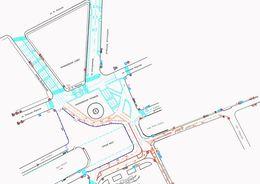 Ремонт Синего моста пока не ограничил автодвижение
