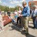 Губернатор Ленинградской области Александр Дрозденко проверил, как в Сланцах благоустраивают дворы