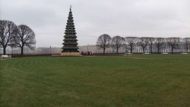 На Новый год в Петербурге ожидают оттепель