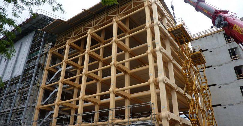 Госстройнадзор: строительство высотных домов из дерева допустимо