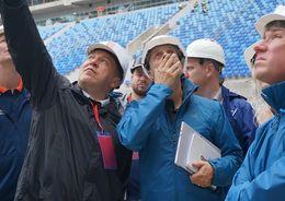 Албин: Поле стадиона на Крестовском готово полностью