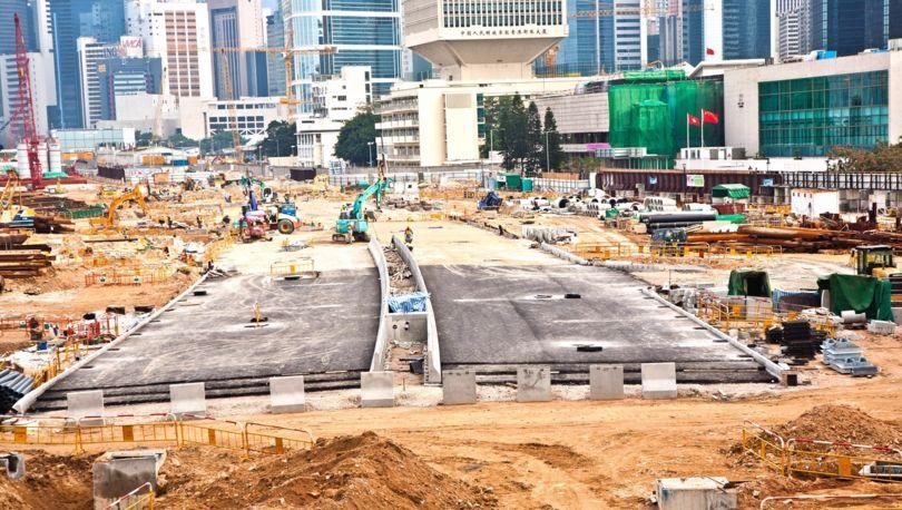 китайцы строят дорогу