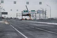 Строительство автомагистрали