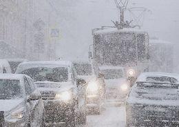 Петербуржцев предупреждают о снежном шторме