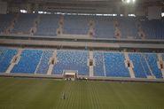 На стадионе на Крестовском травмирован рабочий