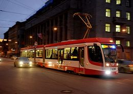 На Садовой улице 1 марта появится новый маршрут трамваев-челноков