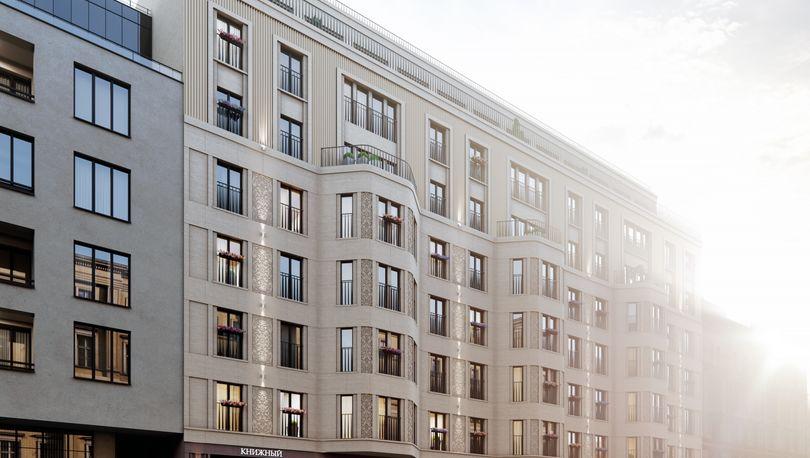 Veren Group приступила к строительству дома бизнес-класса в центре Петербурга