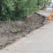Улица Колпинская в Тосненском районе Ленобласти обновляется