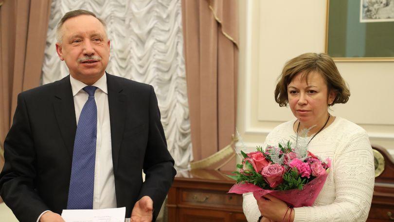 Беглов и Андреева