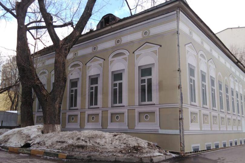 дом в старой Москве