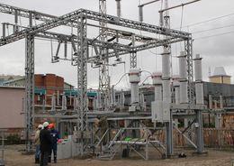 Подстанцию в Колпино реконструируют москвичи