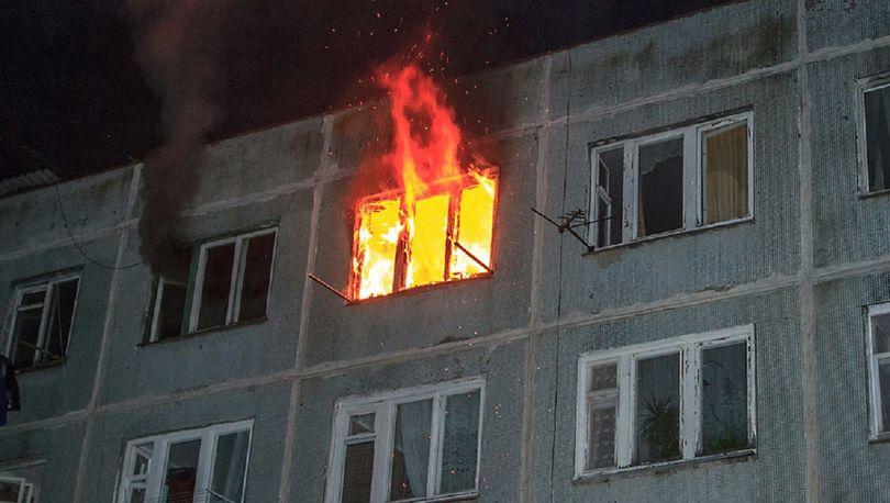 На Новочеркасском тушили крупный пожар