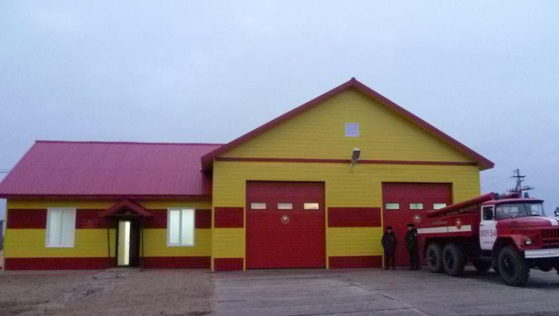 пожарное депо