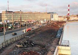 На достройку Синопской набережной требуется 1,1 млрд рублей