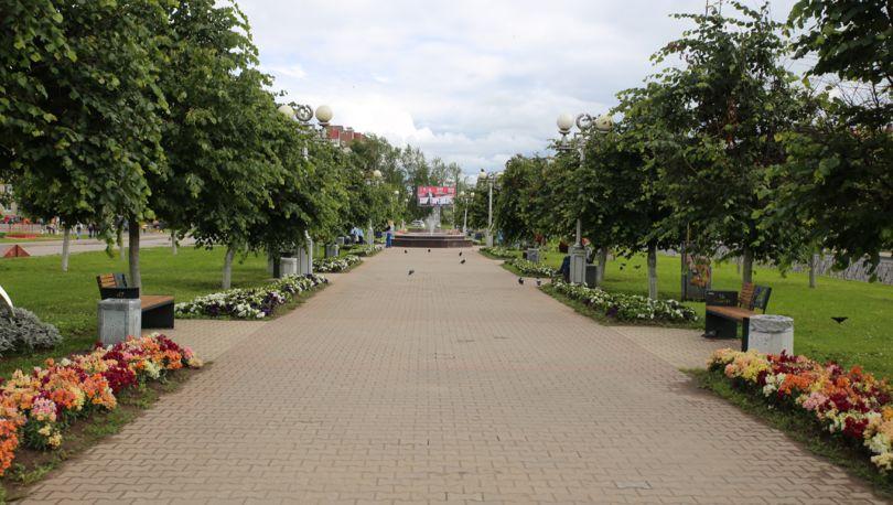 бульвар «47 регион» в Гатчине