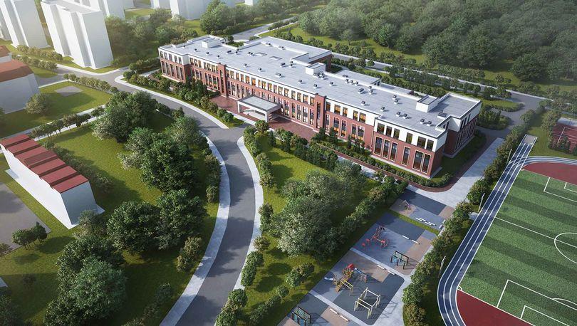 Проект школы на Петергофском шоссе