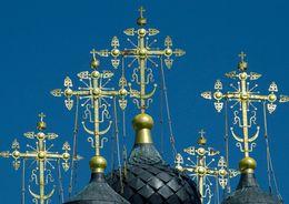 Купола Владимирской церкви позолотят к осени
