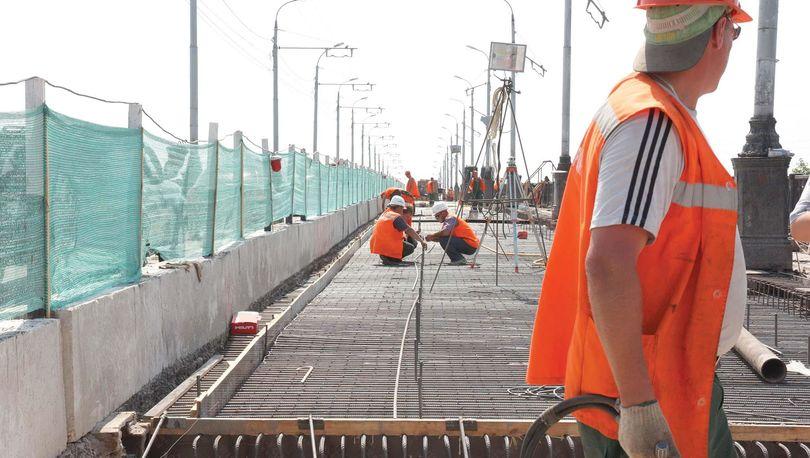 На трассе «Россия» отремонтируют мост