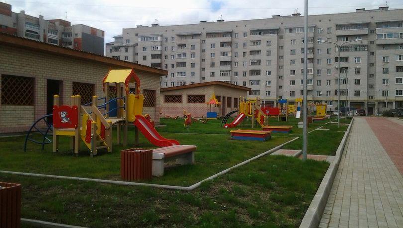 Детский сад на Крестовском острове построен на 90%
