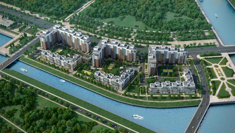 На рынок выведен новый жилой квартал «Жемчужный берег»