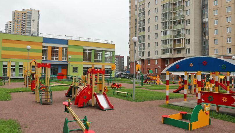 «Ленстройтрест»  в Московском районе  сдал  в эксплуатацию новый  детсад