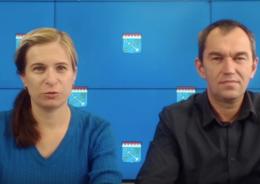 Александр Тимков и Екатерина Путронен