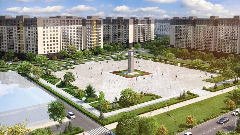 Проект ЖК «Солнечный город»