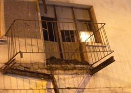 В доме на Лесном обрушились два балкона