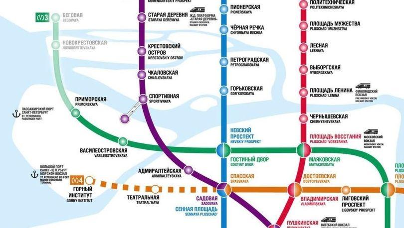 схема будущего метро