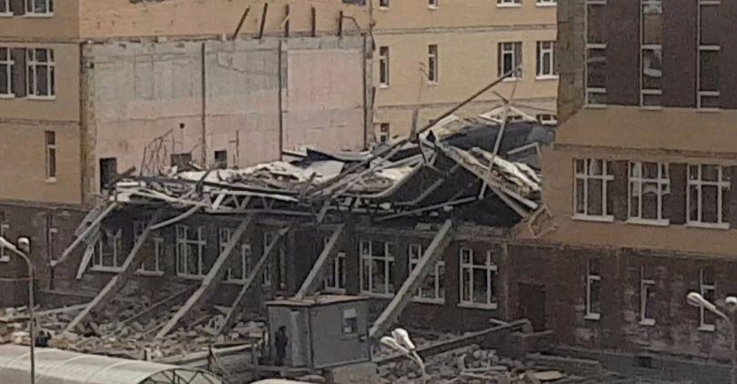 Обрушение школы