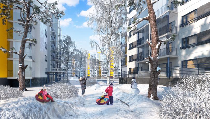 «Финские кварталы» аккредитованы двумя банками