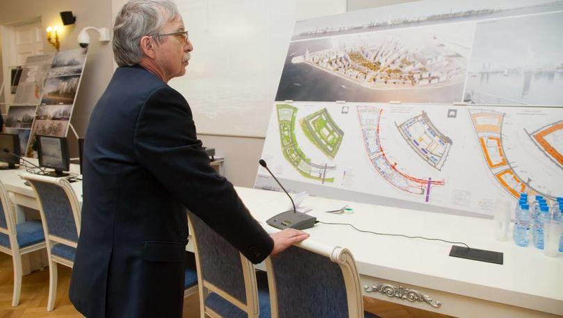 Градсовет одобрил концепцию застройки части намыва на Васильевском острове