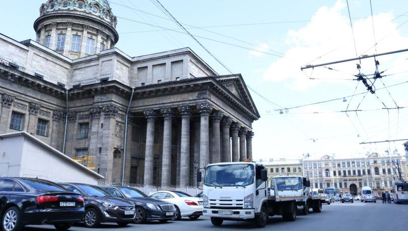 стоянка на Казанской площади