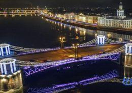 подсветка мостов