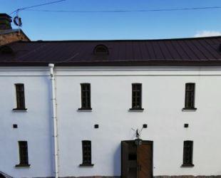 Почти завершена реставрация в арсеналах Выборгского замка